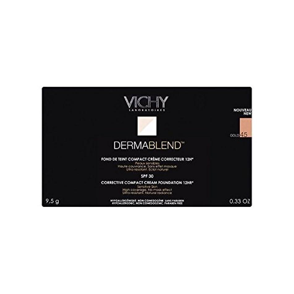 使用法話をする同一のVichy Dermablend Corrective Compact Cream Foundation Gold 45 (Pack of 6) - ヴィシー是正コンパクトクリームファンデーション金45 x6 [並行輸入品]