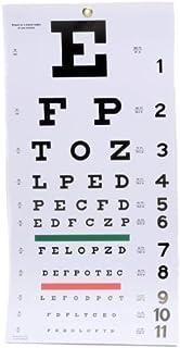 EMI Snellen Plastic Eye Chart 60cm X 28cm