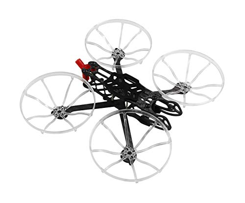 Usmile Turtle 149 149mm 3 Inch Cinewhoop Whoop Frame Kit w/ Propeller Protective Guard for Caddx Vista RC Drone FPV Racing Carbon Fiber Quadcopter Drone Frame
