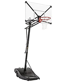 Silverback NXT 54  Backboard Portable Height-Adjustable Basketball Hoop Assembles in 90 Minutes
