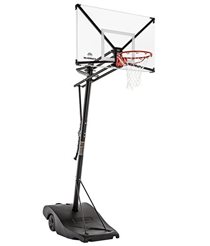 Silverback NXT 54' Backboard Portable Height-Adjustable Basketball...