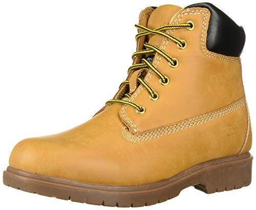 Deer Stags Boys' MAK2 Hiking Boot, Wheat, 5 W US Big Kid