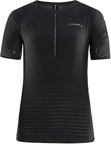 Craft CTM Roundneck SS Shirt Dames Zwart 2019 Fietsondergoed