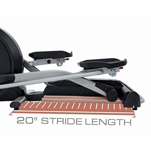 Spirit Elliptical XE 395 – Ellipsentrainer, Cross Trainer mit Hand-Puls-Sensoren, Ergometer, Cardio Fitness - 5