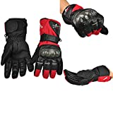 ZFGHN Invierno Guantes Gloves Motorbike Motorcycle Gloves Winter Waterproof Windproof Protective Gear Sports Racing Motocross Bike Glove