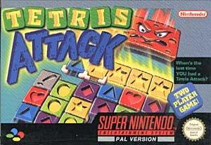 Tetris Attack - Super Nintendo SNES