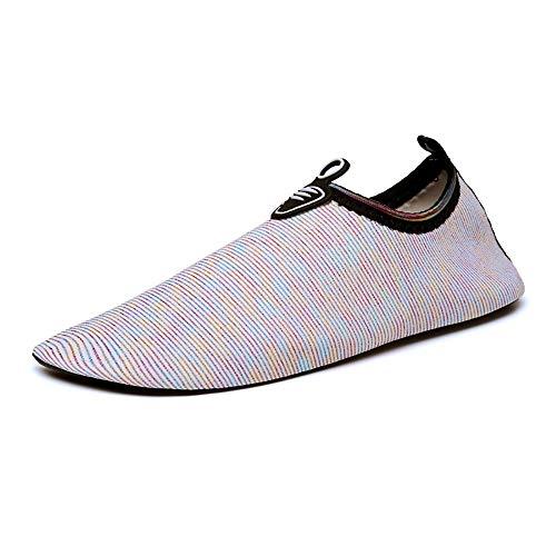 EVFIT Zapatos de Verano Viaje De Natación Al Aire Libre Barefoot Calcetines Antideslizantes De Natación Snorkeling Zapatos De Los Hombres De Las Mujeres Calzado (Color : Multi-Colored, Size : 37-38)