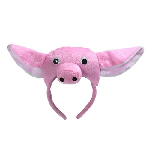 Animals Cute Headband Party Costume Ear Headband Cosplay (Pig)