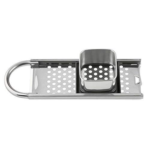 Hochwertiger Spätzlehobel aus Edelstahl - Premium Qualität - kurze Spätzle Knöpfle