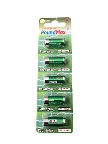 5 x PoundMax 910A LR1 N Typ MN9100 1,5 V Alkaline Batterien