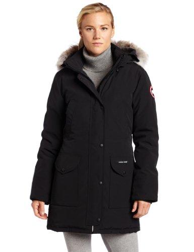 Canada Goose Women's Trillium Parka,Black,Medium