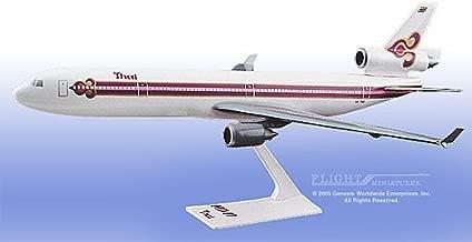 Flight Miniatures Thai Airways McDonnell Douglas MD-11 1:200 Scale Display Model