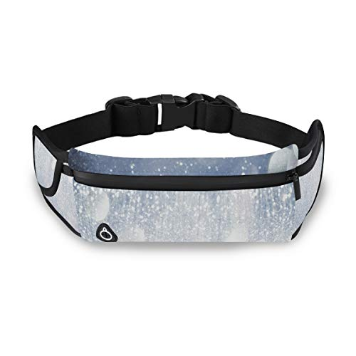 ZHOUSUN Unisex Adjustable Travel/Running Belt Diamond Cut Has The Best Sparkle Waist Pack for Hands Free Way to Carry Phone Passport Keys ID Money & Everyday Essentials