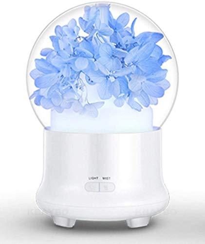 SHENNJRR Kleurrijke LED Lights Ultrasone Luchtbevochtiger Sprayer Aromatherapie Etherische Olie Diffuser Helpt Slaap Luchtzuiveraar