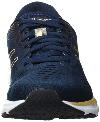 Asics Gel-Pulse 12, Road Running Shoe Mujer, French Blue/Champagne, 37.5 EU