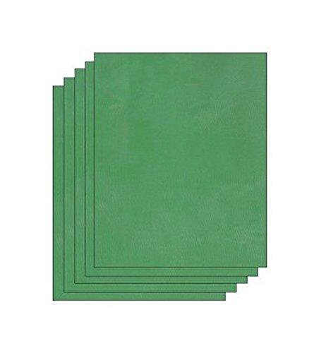 Easy DIY Custom Silk Screen Printing Stencils, 5 Pack Pre-Coated Emulsion Sheets