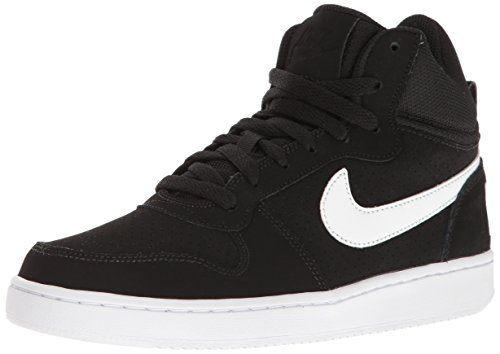 Nike Damen Wmns Court Borough Mid Sportschuhe-Basketball, Schwarz  (black/white), 38 EU