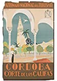 Cordoba Argentine Poster Reproduktion – Format 50 x 70 cm