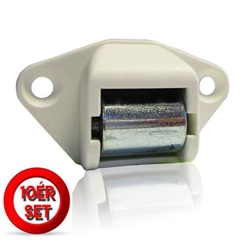 Gurtleitrolle Rolladen Gurtführung 23 mm Königsrolle Handwerkerqualität 10 Stück