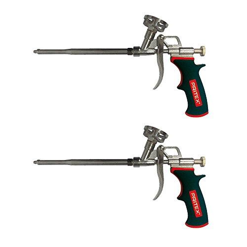 PU Schaumpistole 2 Stück Pistole für Pistolenschaum Bauschaumpistole Montageschaumpistole