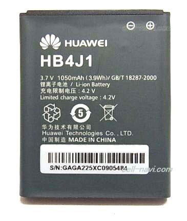 Huawei Batterie HB4J1H Ascend Y100, C8500, C8500S, GAGA, Ideos, Ideos X1, IDEOS X3, M835, T8100, T8300