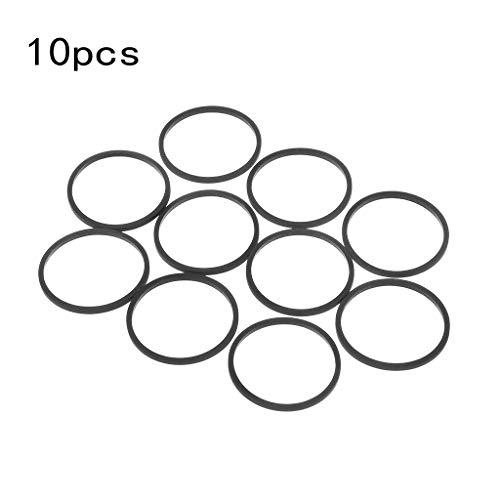 Kcibyvx Remplacement des courroies en caoutchouc de l'unité de disque DVD 10PCS pour Xbox 360, accessoires de plateau de disque Microsoft Stuck