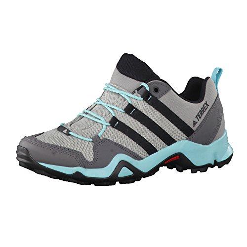 Adidas Terrex Ax2r W, Zapatos de Senderismo para Mujer, Gris (Grpumg/Negbas/Granit), 36EU