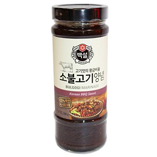 Beksul Korean BBQ Sauce Bulgogi Marinade Rind 500g
