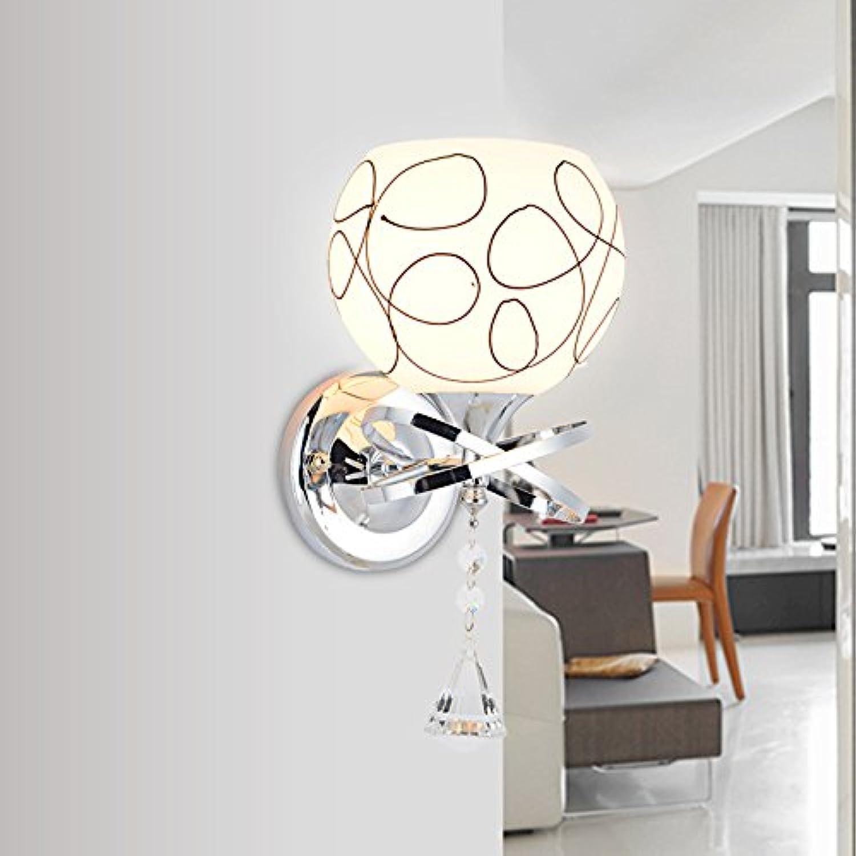 StiefelU LED Wandleuchte nach oben und unten Wandleuchten Wandleuchte Wandleuchte Schlafzimmer Nachttischlampe Glasfront Treppe 514, einem Kopf,