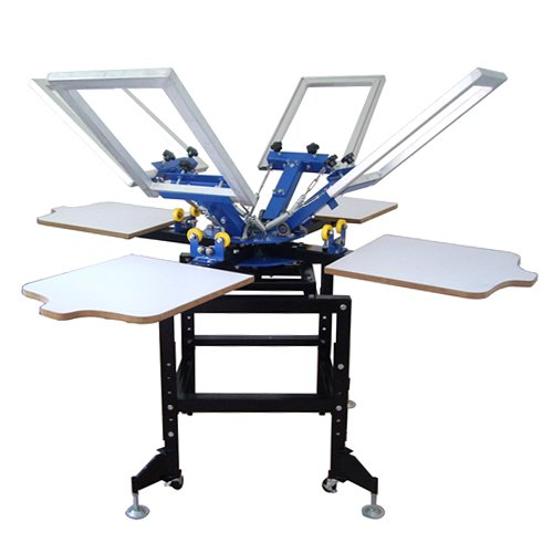 how to use a silk screen machine