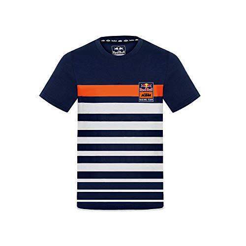 Red Bull KTM Stripe Camiseta, Niños Tamano 164 - Original Merchandise