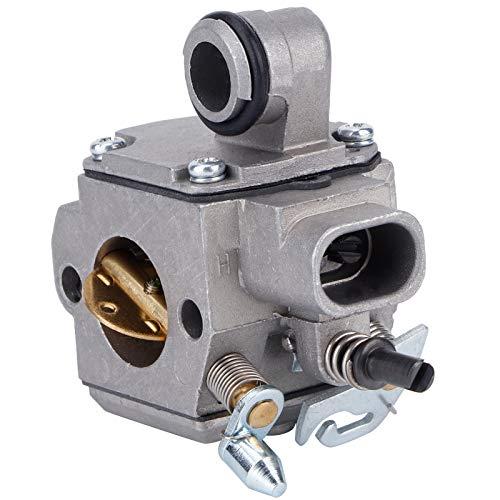 fuwinkr Carburador Reemplazo de carburador, carburador Apto para STIHL MS341 MS361 Piezas de Motosierra Accesorios de Herramientas de jardinería para Motosierra eléctrica