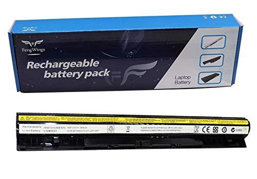 Fengwings® Batería de repuesto L12M4E01 para Lenovo G400s G500s G50-80 Z50 L12L4A02 L12L4E01 L12M4A02 (14,4 V, 2600 mAh)