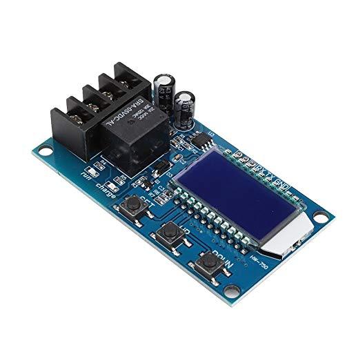 Topiky CNC Lademodul, Professionelles HW-750 Akku Steuergerät für Automatisches Laden Ausschalt Überladeschutzschalter für 6-60-V Batterie, Lithiumbatterie