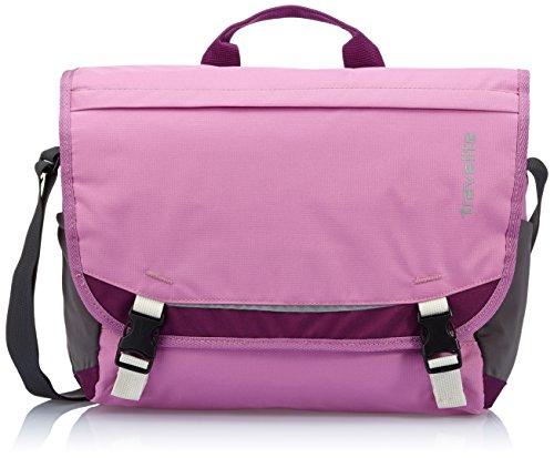 Travelite Umhängetasche Basics Messenger, 6908-13 Pink (Fuchsia)