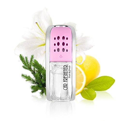 L J Auto Lufterfrischer, original französisches Parfumöl hergestellt bei Mane®, Auto Zubehör, Auto Duft, Duftstecker für Lüftungsgitter im Fahrzeug, 5ml, C-103 (Leichter Duft)