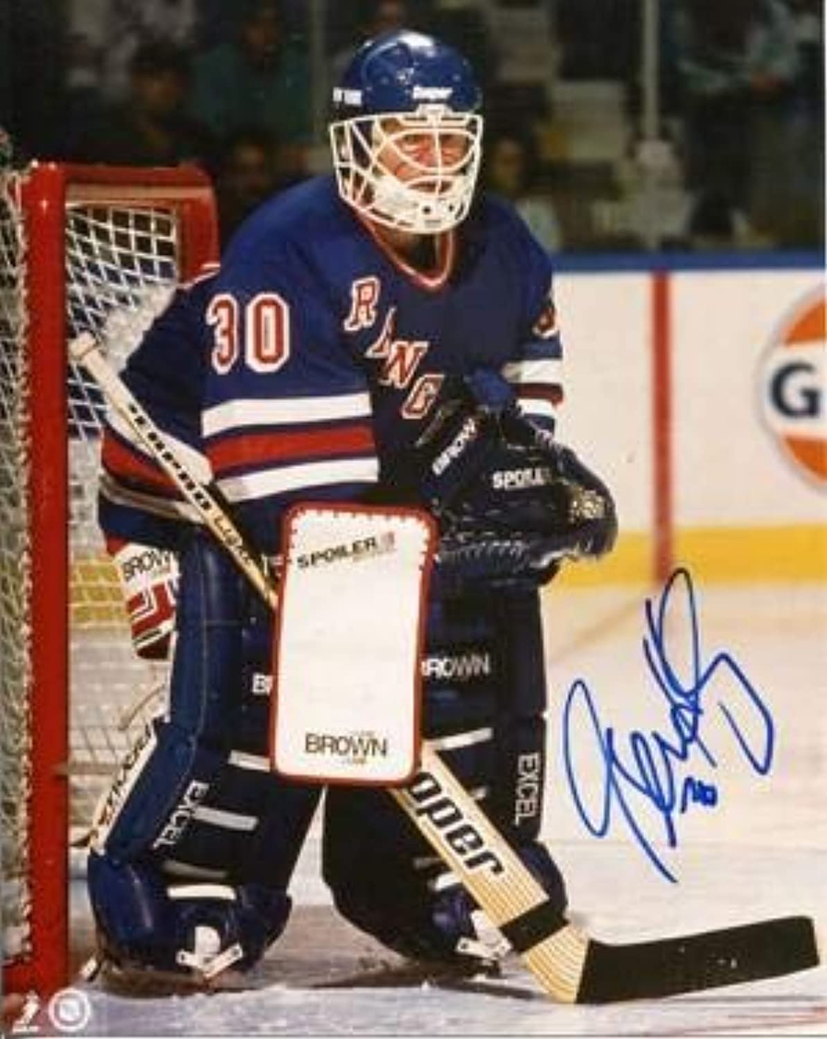 Signed Glenn Healy Photo  8x10  Autographed NHL Photos