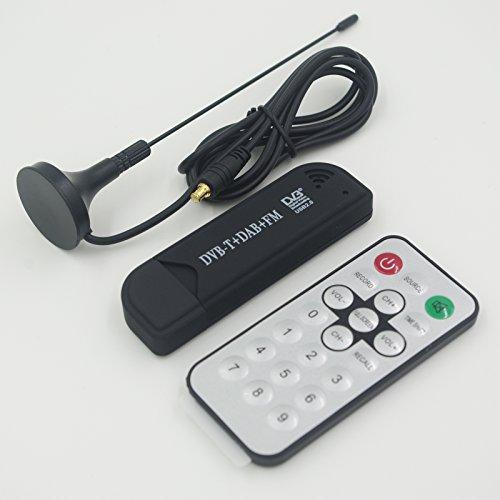 New USB DVB-T RTL-SDR Realtek R820T Upgrade Version RTL2832U & R820T2 MCX Input