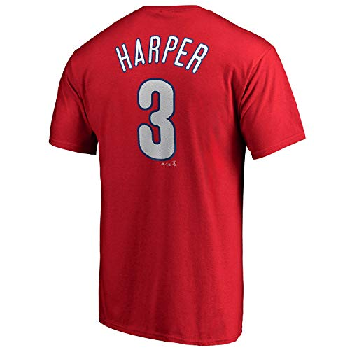 Outerstuff Bryce Harper Philadelphia Phillies MLB Majestic Youth Player Name & Number T-Shirt -Medium 10-12