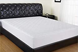 quilted comfort mattress and pad allrange hypoallergenic dp coolmax cover fitted polyester cotton cooling amazon snug fabric com protector