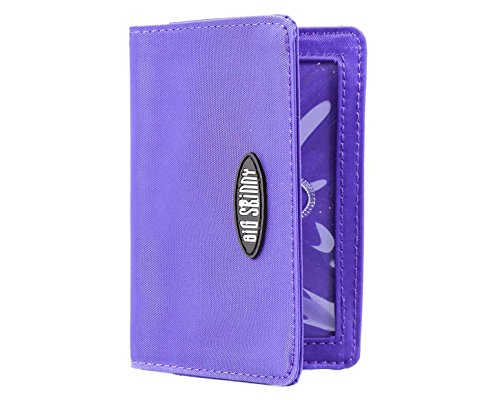 Big Skinny Card Case Slim Wallet, Holds Up to 16...