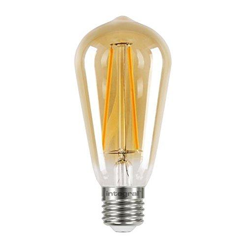 Integral LED Coucher de soleil vintage E27 non dimmable lampe, clair, 2,5 W (40 W) K 170LM