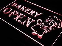 ADVPRO i175-r OPEN Bakery Shop Bread Display LED看板 ネオンプレート サイン 標識s