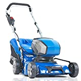 Hyundai 40v Lithium-ion Cordless Battery Powered Lawn Mower 42cm Cutting Width 45L Grass Bag With Battery & Charger Mowers & Outdoor Power No assembly needed 3 Year Platinum Warranty - Best Reviews Guide