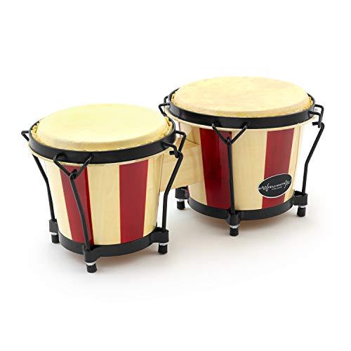 World Rhythm bon14-st Bongo Drums