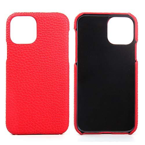 Lederen Case voor Iphone 11 / SE 2020 / SE 2 Premium Echte Koeienhuid met Nieuwe Slanke Ontwerp Dunne Bescherming Harde Achterkant Van de Behuizing,Red,SE 2