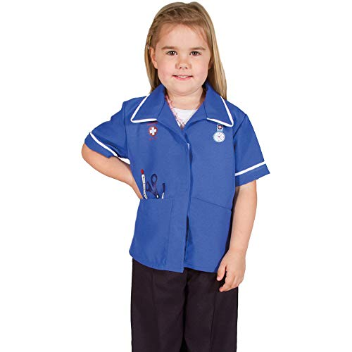 Pretend to Bee Krankenschwester-Kostüm für Kinder, hochwertig, 5–7 Jahre, Kinderkostüm für Kinder und Kleinkinder, zum Verkleiden von Kleidung für Mädchen, Rollenspiel für Kinder