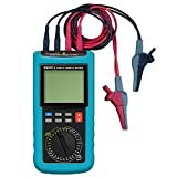 allsun Digital Electric Cable Resistance Tester Cable Wire Length Meter Ohm Resistance Meter Up to 30KM/100000 ft Measured in m㎡(NO AWG)