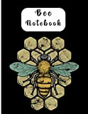 Bee Notebook: Vintage Bee Notebook | gift for friend | bee lovers | bee journal | bee notes | bee planes | 8,5 x 11 | original design | pick urs now !