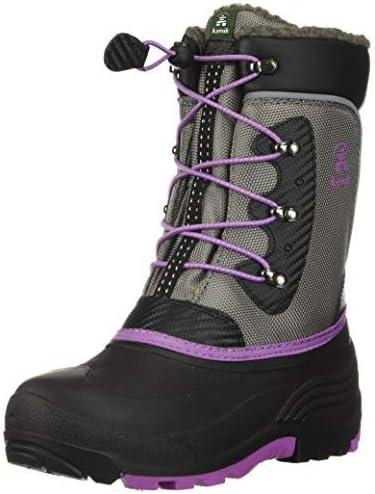 Kamik Child Luke Winter Boots Charcoal